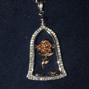 Enchanted Disney Belle Necklace